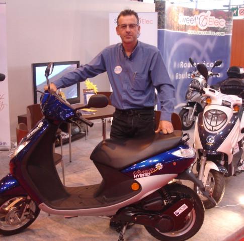scooter hybride