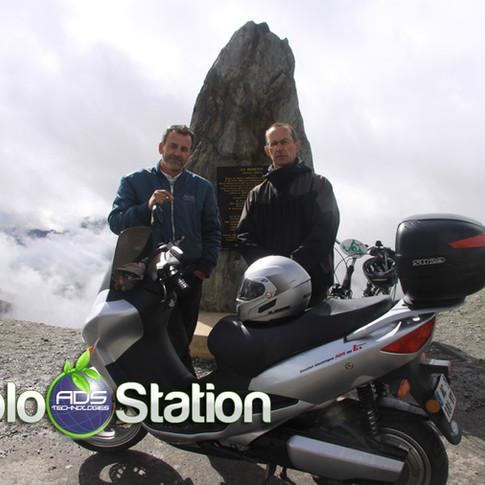 traversée des alpes electrique