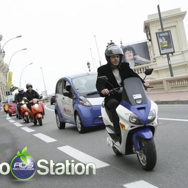 Scooter electrique monaco