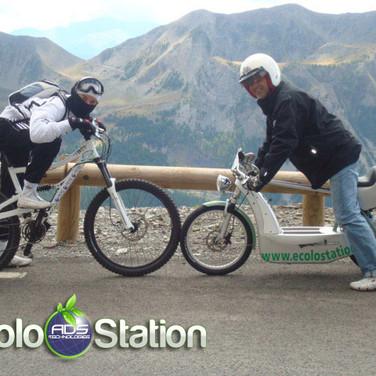 traversée des alpes electrique 2008