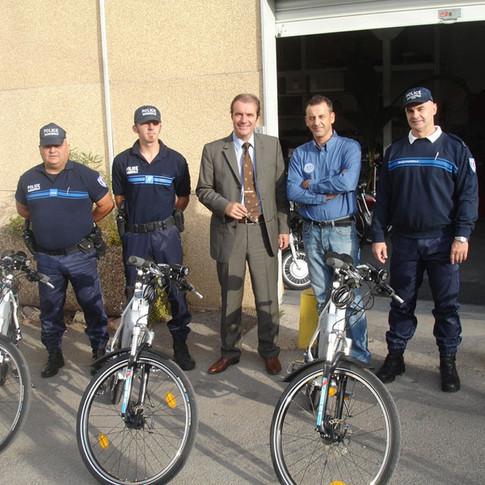 vtt electrique police