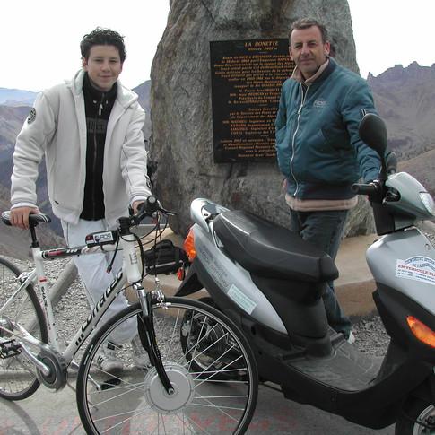 traversée des alpes 2007