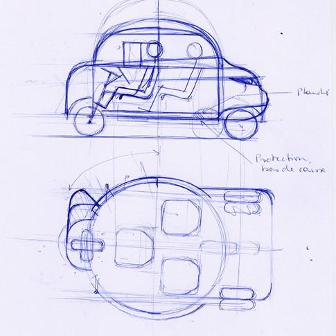 prototype voiture electrique handicapés