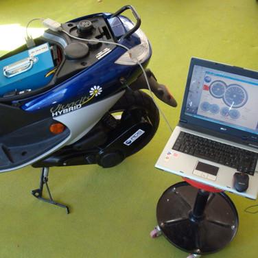 scooter hybride Peugeot