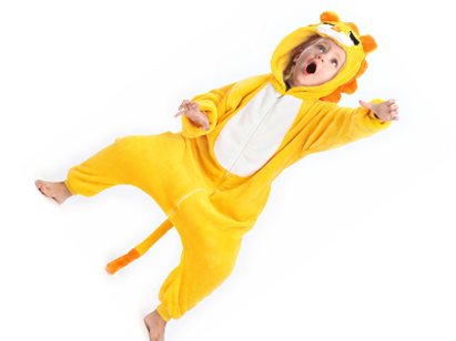 kids lion onesie