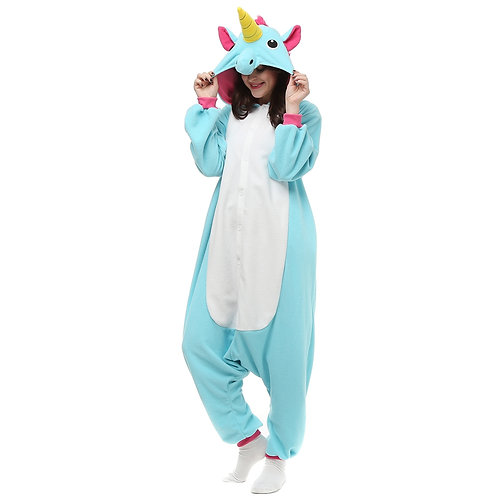 Blue Magical Unicorn Onesie