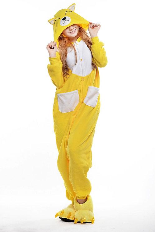 Yellow Fox Onesie