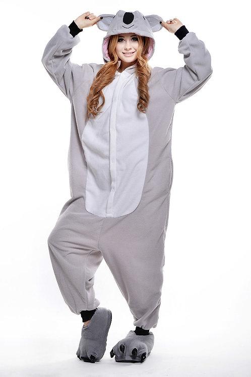 Grey Koala Onesie