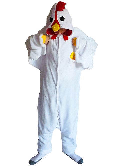 White Chicken Onesie