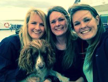 Katie, Kim, Kirsty and Tilly