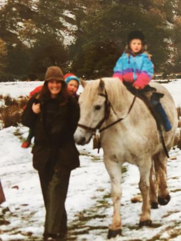 Horse riding in Rhidorroch
