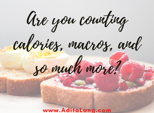 Are you counting calories, macros, and so much more?