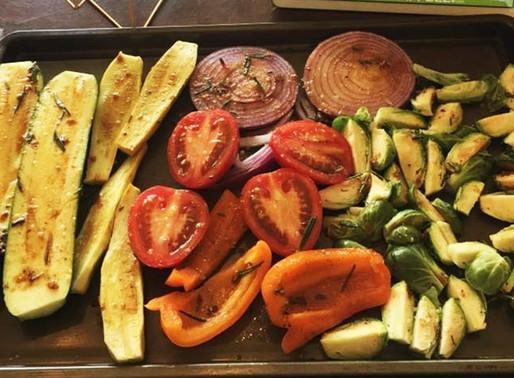 Grilled Veggie Salad