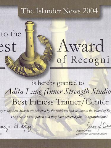 Islander Newspaper Best Personal Trainer