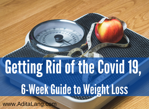 Getting Rid of the Covid 19 (lbs),  6-Week Guide to Weight Loss