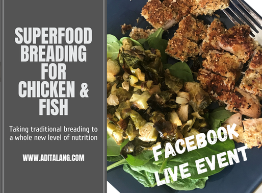 SuperFood Breading for Chicken and Fish