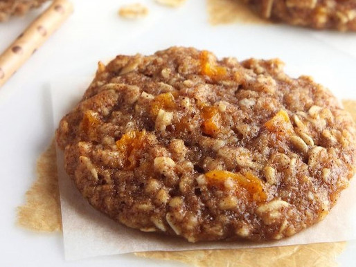 Oatmeal Mulberry Cookies