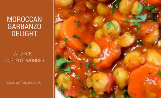 Moroccan Garbanzo Delight