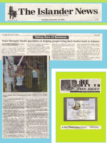 Islander Newspaper feature on Fitness an