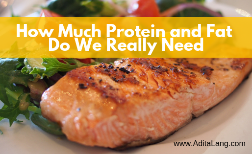 How much Protein and Fat do we really need?