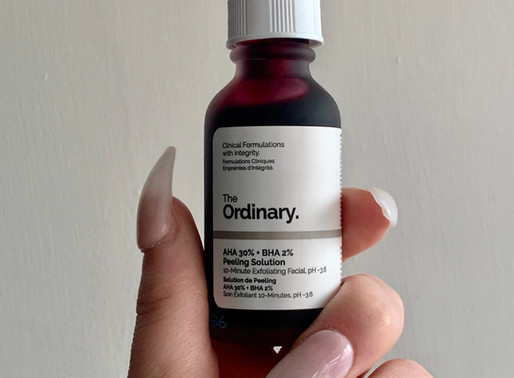 The Ordinary: Skincare that saved my Face