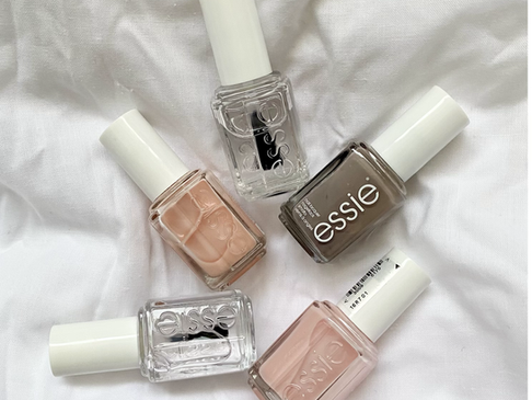 Growing my Nails out with Essie Polishes