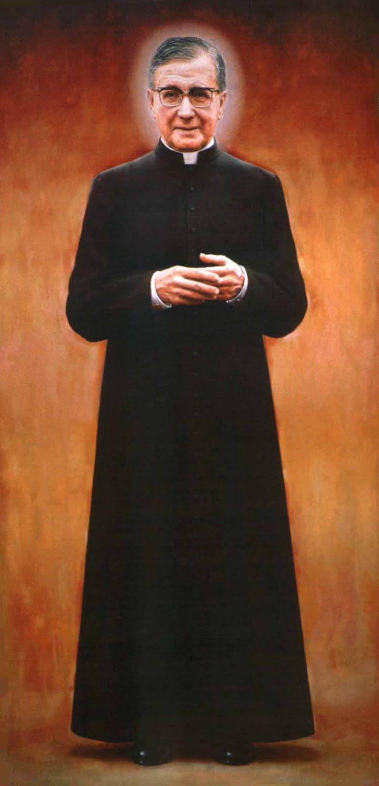 São Josemaría Escrivá, fundador do Apostolado do Opus Dei