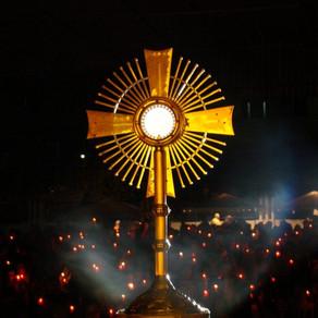 Oração para receber a comunhão Espiritual