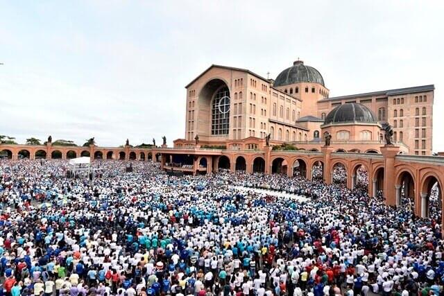 Mais de 12,6 milhões visitaram o Santuário em 2018 (Foto: Thiago Leon/A12.com)