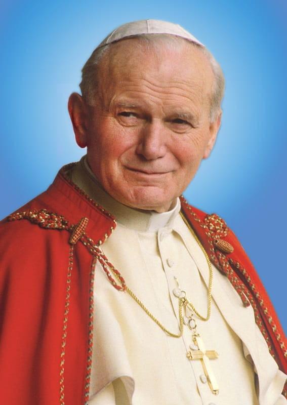 O nome da carta direcionada aos jovens por São João Paulo II é: Carta Apostólica Dilecti Amici, do ano de 1985, não Santos de calça jeans, que não foi comprovada sua veracidade