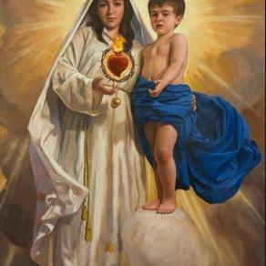 Oração a Jesus vivendo em Maria