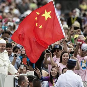 Papa explica em carta acordo com Pequim e apela a um caminho de reconciliação