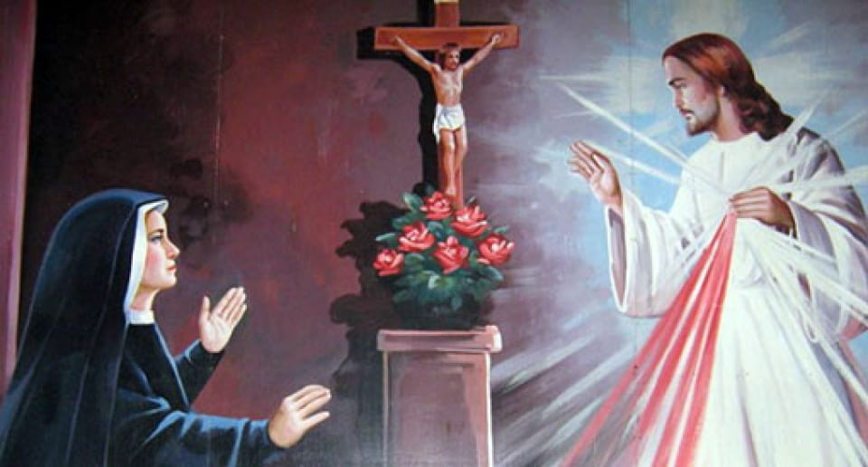 Santa Irmã Faustina Kowalska e Jesus Misericordioso