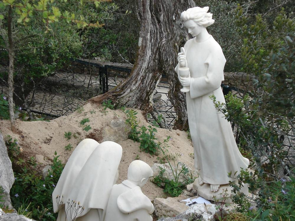 Oração ensinada pelo Anjo aos Pastorinhos em Fátima