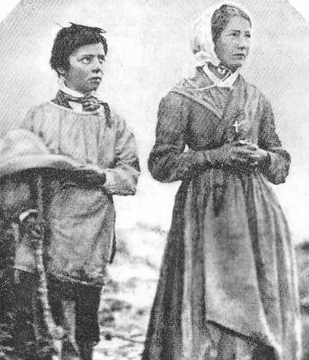Maximino Giraud e Melânia Calvat