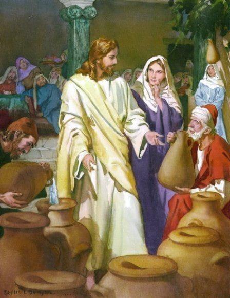 Auto-revelação de Jesus Cristo nas Bodas de Caná