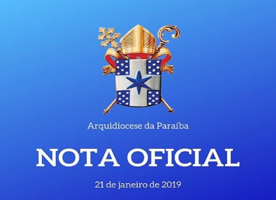 Procurador violou segredo de justiça, diz Arquidiocese da Paraíba em nota sobre reportagem exibida no Fantástico