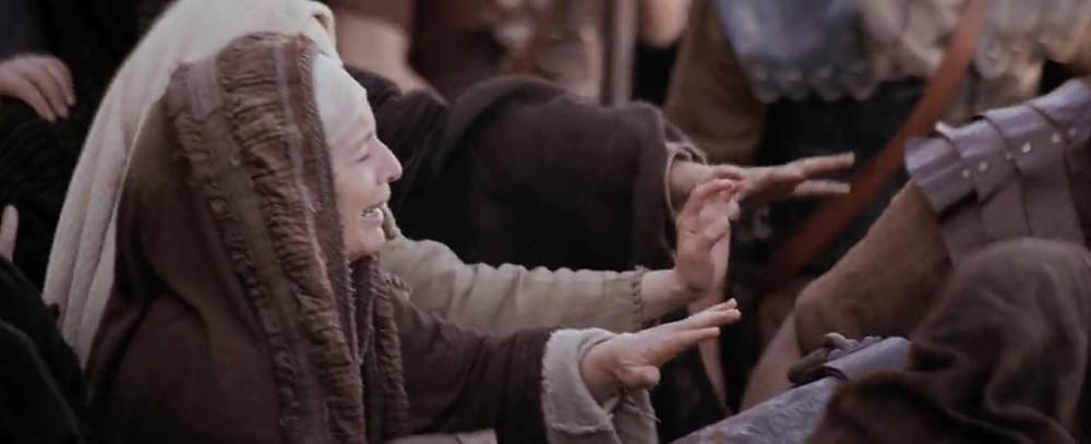 8ª estação: Jesus consola as mulheres de Jerusalém