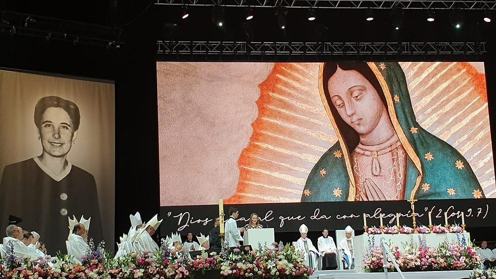 Maria Guadalupe Ortiz de Landázuri, primeira leiga do Opus Dei foi beatificada na manhã deste sábado, em Madrid