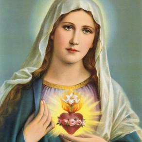 Oração Reparadora ao Imaculado Coração