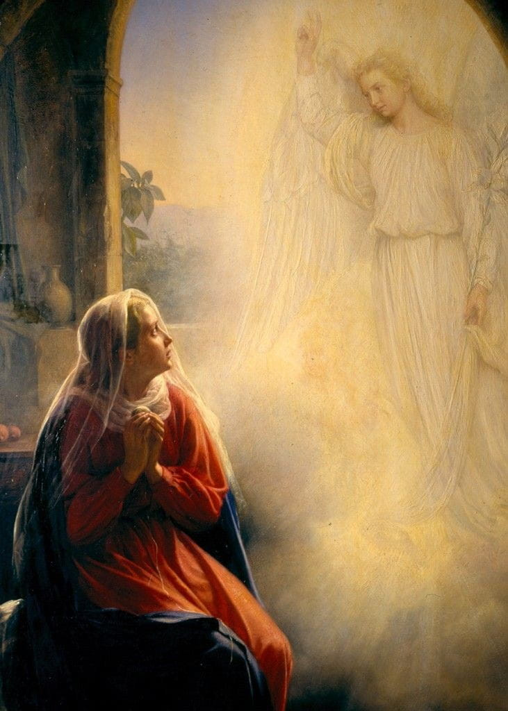 Anunciação do Arcanjo S.Gabriel a Nossa Senhora