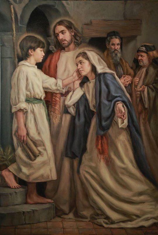 Encontro do menino Jesus no Templo