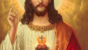 Ato de desagravo ao Sagrado Coração de Jesus