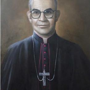 Imagem oficial de Bispo mártir que será beatificado pelo Papa Francisco é apresentada