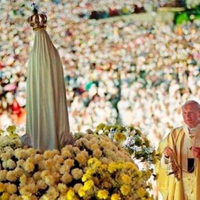 Oração de São João Paulo II Consagrando os jovens à Virgem Maria