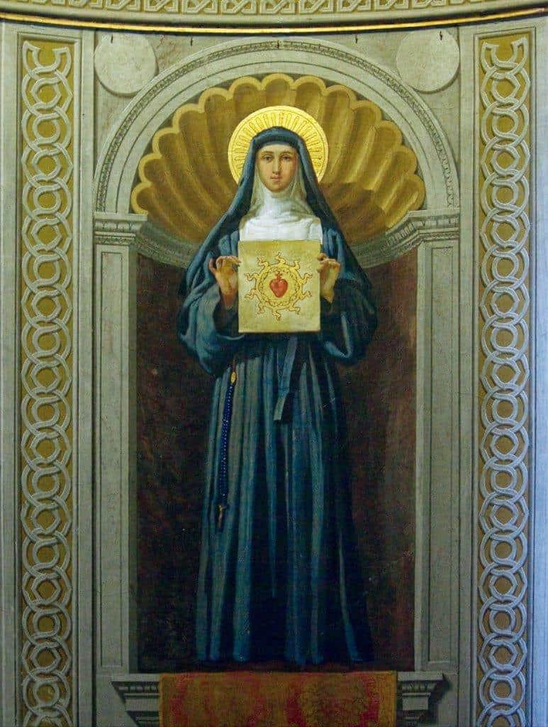 Santa Margarida Maria Alacoque
