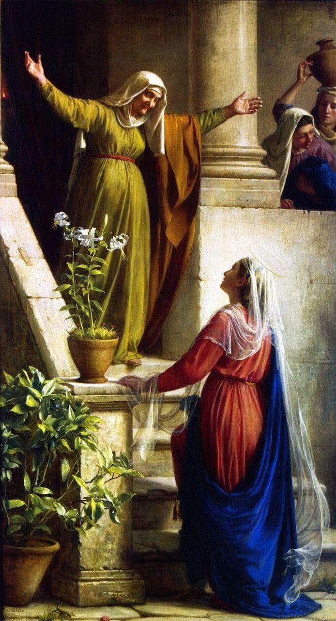 Visitação de Nossa Senhora à sua prima santa Isabel