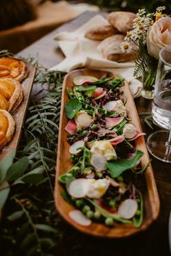 Burrata & Pea Salad