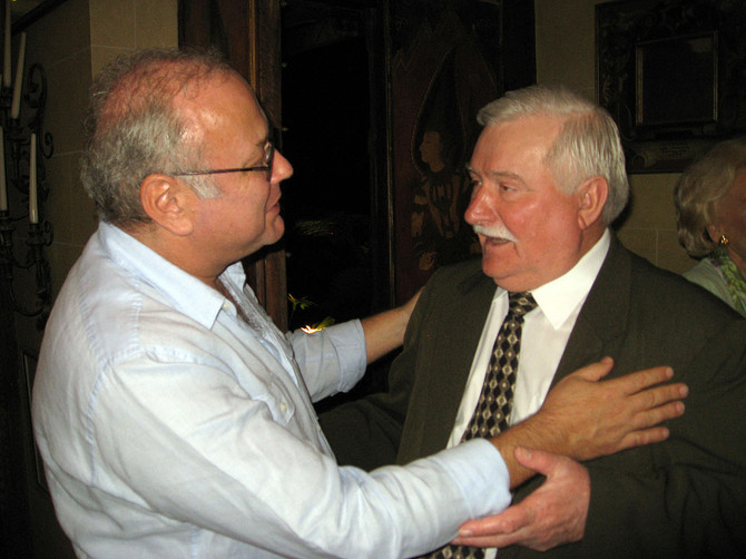 A Visit From President Lech Walesa