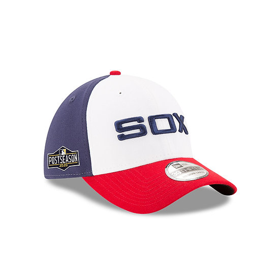 White Sox New Era 1983 Home 2020 Postseason Sidepatch The League Stretch Fit Cap